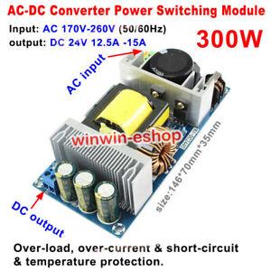 AC-DC 220V 230V 240V to 24V 300W Converter Isolated Switching Power Supply Board
