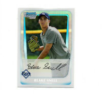 2011 Bowman Chrome Draft Blake Snell REFRACTOR Rookie Card! TB RAYS RC CY YOUNG!