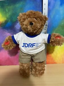"""Aurora Rufus The Bear With Diabetes 14"""" Plush  with Tags"""