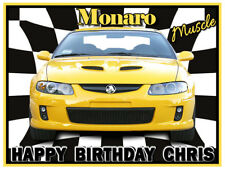 Monaro CV8 Car Edible Icing Image Cake Decoration Birthday Party Topper