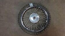 "1983 kawasaki kd80m dirt bike K464~ front wheel rim 16"""