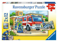 Police and Firefighters Puzzle 12pc - Ravensburger