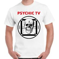 Psychic Tv Force The Hand Of Chance Post Punk Retro T Shirt 1738
