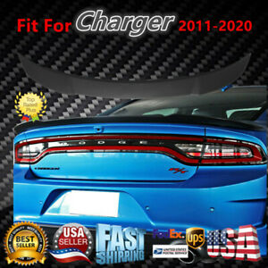 Fit For 2011-2020 Dodge Charger matte Black Hellcat Style SRT Rear Wing Spoiler