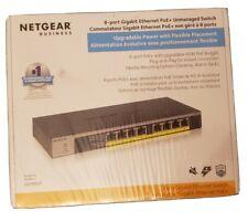 NETGEAR GS108LP 8-Port PoE/PoE+ Gigabit Ethernet Unmanaged Switch 60W PoE