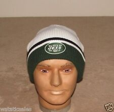 New York Jets Knit Hat NFL Football Cuffed FREE SHIPPING