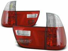 Pilotos traseros para BMW X5 E53 1999-2003 Rojo Blanco ES LTBM44-ED XINO ES