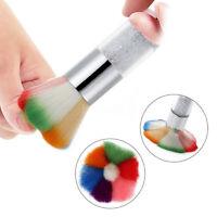 Nail Art Dust Dead Skin Remover Brush Cleaner for Acrylic UV Nail Gel Powder
