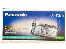 NEW Panasonic KX-FPG377 Digital Cordless Telephone 2.4 GHz Answering System NIB!