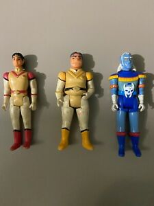 Vintage 1984 Voltron Action Figures Lot; Prince Lotor, Hunk, Keith