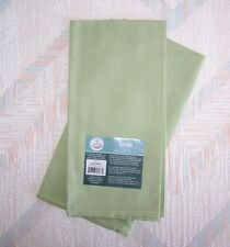 Napkin Set Sage Colored Set of Two Napkins Kay Dee Cotton