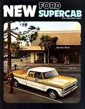 Print.  1974 Ford SuperCab Pickup