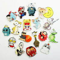 Cartoon Comics Rabbit Giraffe Mouth Rainbow Colorful Arcrylic Brooch Pin Badges