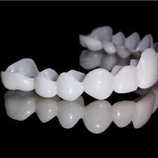 Unique Smile Comfort Fit Flex Cosmetic Denture Snapon Teeth Cosmetic Veneer