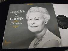 JEANNE-MARIE DARRÉ°<>PLAYS CHOPIN/THE WALTZES<>LP Vinyl~US Pressing<>VSD 71163