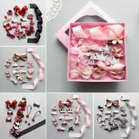 Hairpin Baby Girl Hair Clip Bow Flower Mini Barrettes Star Kids Infant 18Pcs set