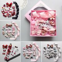 Hairpin Baby Girl Hair Clip Bow Flower Mini Barrettes Star Kids Infant 18Pcs set