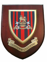 Military Provost Guard Service Wall Plaque Regimental Army Mess Shield
