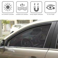Magnetic Car Front Row Sun Shade UV Protection Curtain Window Sunshade 80*50mm