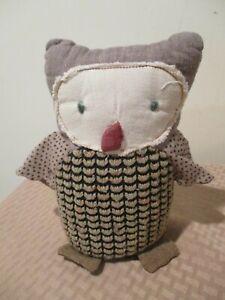 "maileg fox friends OWL plush stuffed animal 8"""