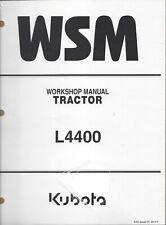 Kubota L4400 Tractor Workshop Service Manual 9Y011-13502