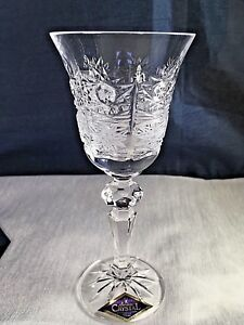 Crystal Glass Set of 6 Liqueur Cordial Vodka  2 oz Hand  Cut Bohemia  Crystal