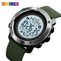 SKMEI Fashion Sports Smart Watch Men's Watch Bluetooth Heart Rate Compass 1511