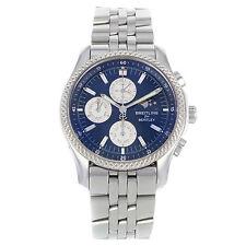 Breitling Armbanduhren aus Edelstahl