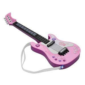 Kid Little Guitar With Rhythm Light Sound Fun Educational Musical Instrument