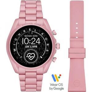 Womens Smartwatch MICHAEL KORS BRADSHAW 2 MKT5098 Aluminium Pink Touchscreen