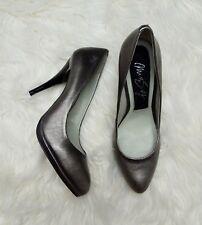 Miss Sixty 60 ladies gunmetal pewter silver stilettos high heel shoes party 8 41