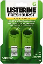 Listerine Oral Care PocketMist Fresh Burst 7.7ml 2 count Each