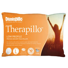 Dunlopillo Therapillo Premium Memory Foam Low Profile Pillow
