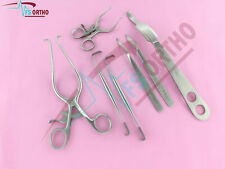 Knee Surgery 7 Pcs set Surgical Orthopedic Instruments Germany Stainless steel