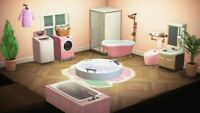 New Horizons Pink Bathroom Furniture Set - FAST SAME DAY DELIVERY -