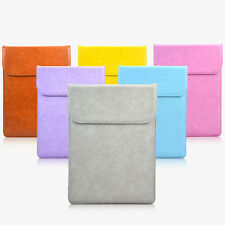 """Soft Ultra-thin Split Leather Sleeve Bag Case for Macbook Air 11"""" 12"""" 15"""" Xiaomi"""