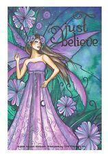 Jessica Galbreth Just Believe Fairy Sticker Decal New Faery Retired Image Htf