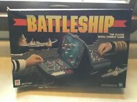 1990's Milton Bradley Battleship Naval Combat Strategy Game Gray Units Complete
