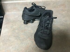 Youth Kids Nike SHOX 615981-002 Black Sneakers Size 5.5Y (CON67)