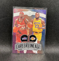 Lebron James Career Lineage Los Angeles Lakers SSP 2019-20 Panini Illusions #23