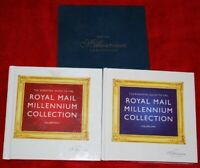 The Essential Guide to Royal Mail Millennium Collection Vol 1 & 2 with Slipcase.