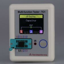 2016 Transistor Tester TFT Induktivität Capacitance Meter LCR ESR NPN PNP MOSFET