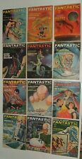 Lot of 12 Fantastic Stories of Imagination  Magazine 1961 Complete Year