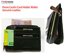 Pierre Cardin Genuine Italian Soft Leather Slim Card Holder Wallet PC2020