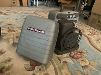 Vintage Bell & Howell Movie Projector 8mm Model Monterey #253 AX w/ Case AMAZING