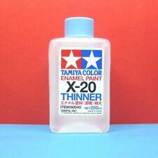 TAMIYA X-20 ENAMEL THINNER (250ML BOTTLE)  80040 TAMIYA