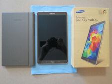 Samsung Galaxy Tab S SM-T700 + Original Case - Titanium Bronze, 16GB, 8.4 inches