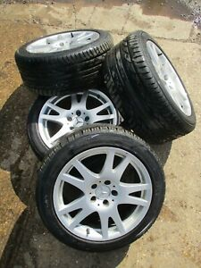 MERCEDES BENZ CLS W219 R17 ALLOY WHEEL WITH NEARLY NEW TYRE