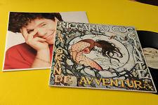RICCARDO COCCIANTE LP LA GRANDE AVVENTURA ORIG 1987 EX+ COVER ART MILO MANARA !!
