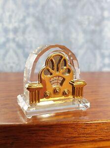Vintage Swarovski Crystal Memories Old Fashioned Radio Original Box